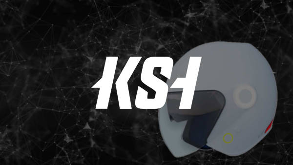 Casque de moto vocal KSH